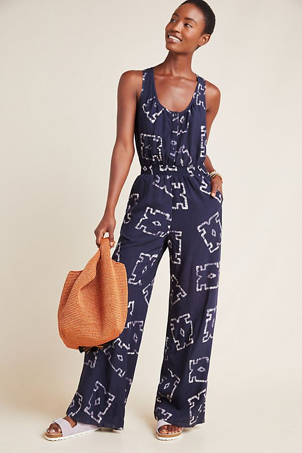 Slide View: 1: Phaedra Wide-Leg Jumpsuit