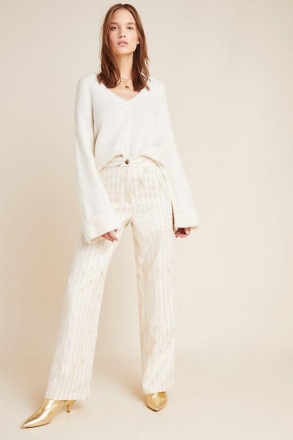 Slide View: 1: Kelyn Striped Trousers