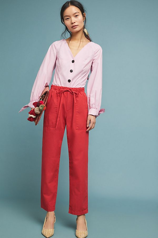 Slide View: 1: Megara Tapered Trousers