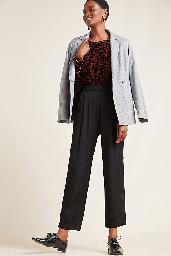 Slide View: 1: Hillary Satin Trousers