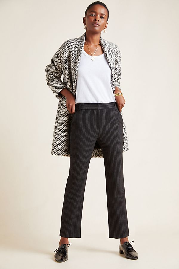 Slide View: 1: Brittany Cropped Flare Pants