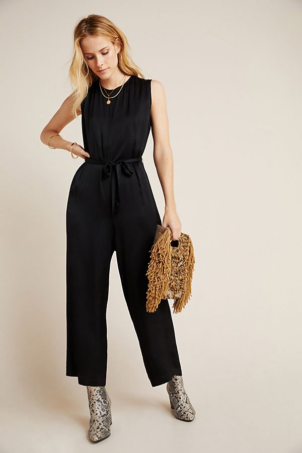 Slide View: 1: Ivy Satin Jumpsuit