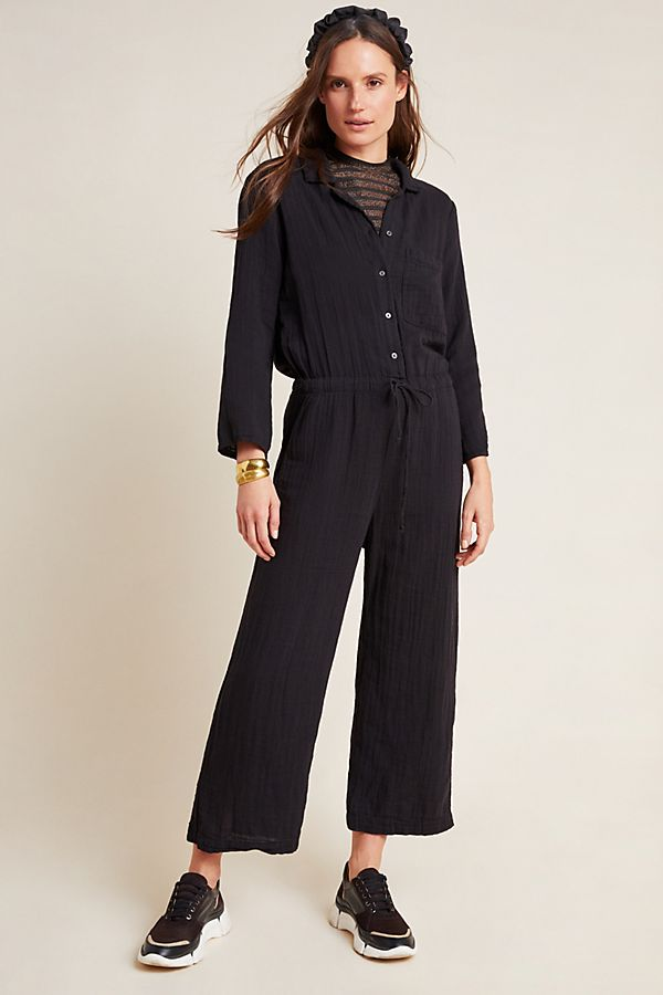 Slide View: 1: Penelope Cropped Jumpsuit