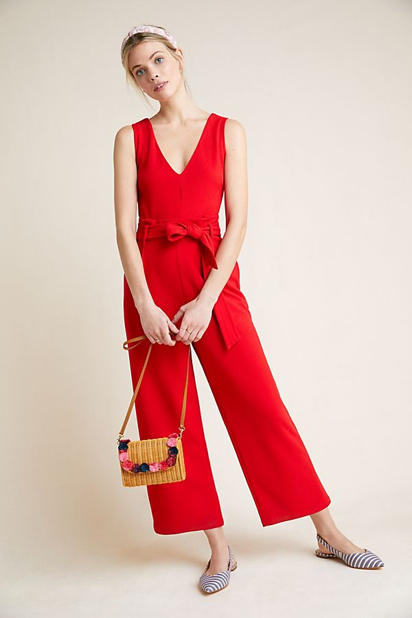 Slide View: 1: Cathy Structured Jumpsuit