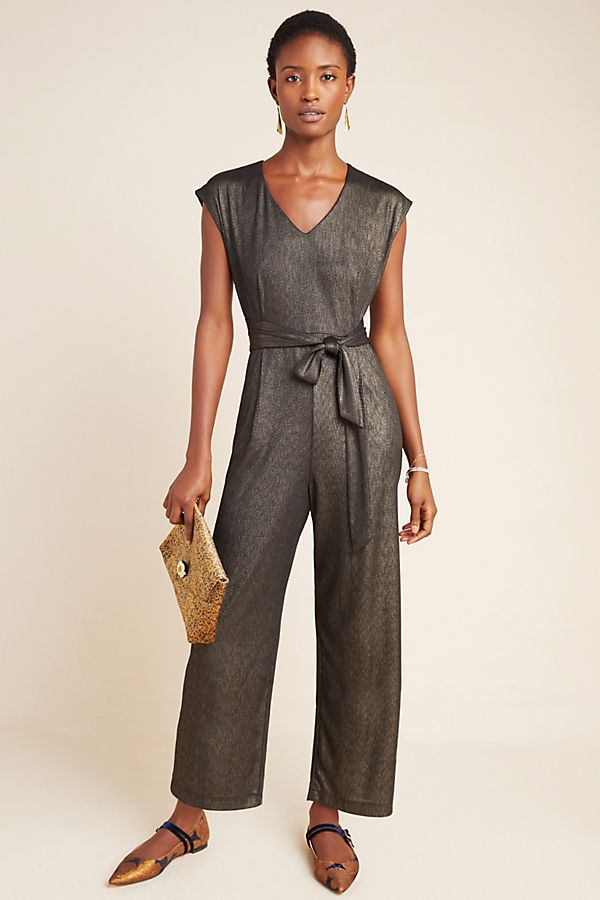 Slide View: 1: Pandita Metallic Jumpsuit