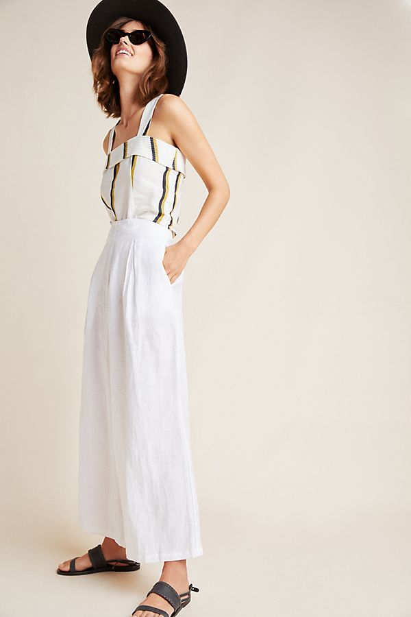 Slide View: 1: Faithfull Meridian Wide-Leg Pants