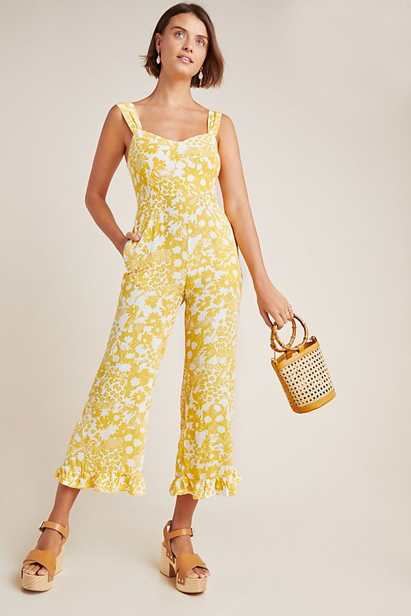 Slide View: 1: Faithfull Kasbah Floral Jumpsuit