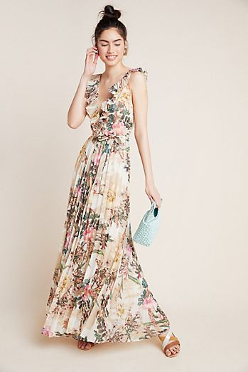 eb8722c680d Aubrey Pleated Floral Jumpsuit