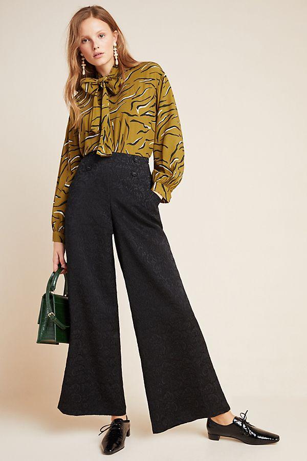 Slide View: 1: Jeunie Jacquard Trousers