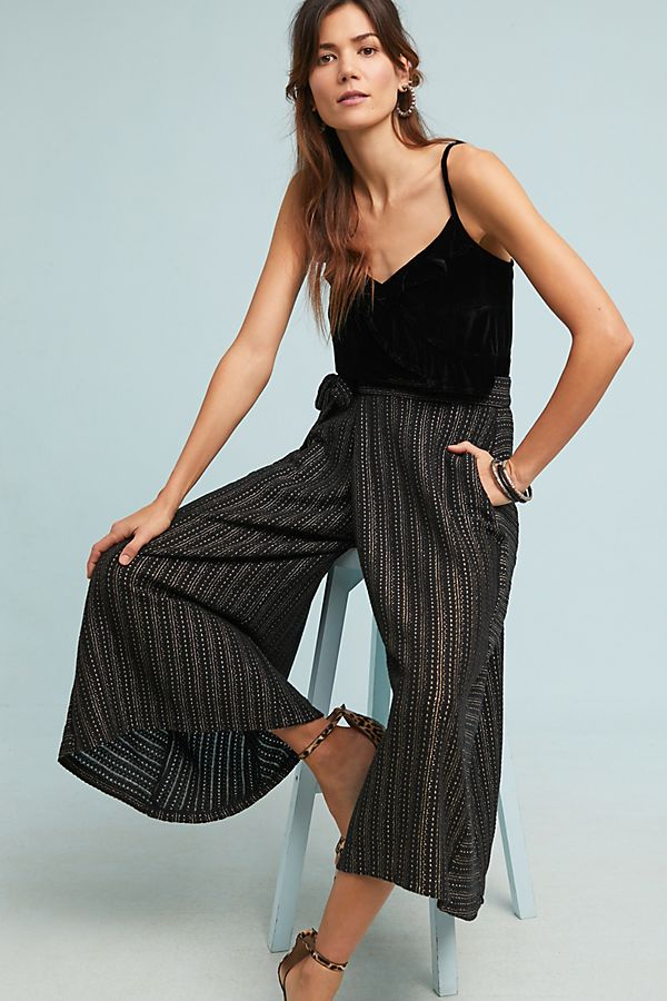 f10e1a6523 Blake Striped Wrap Pants