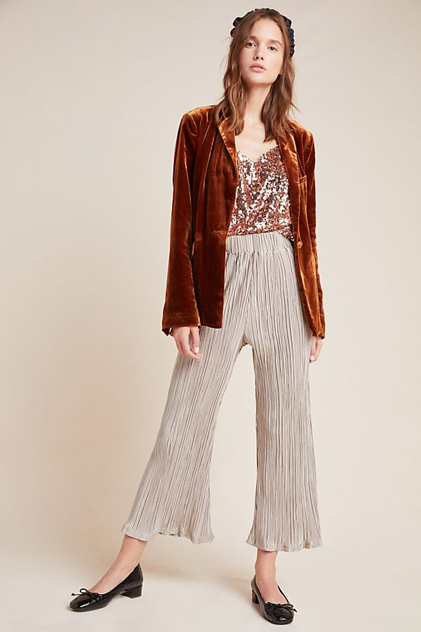 Slide View: 1: Camille Pleated Pants