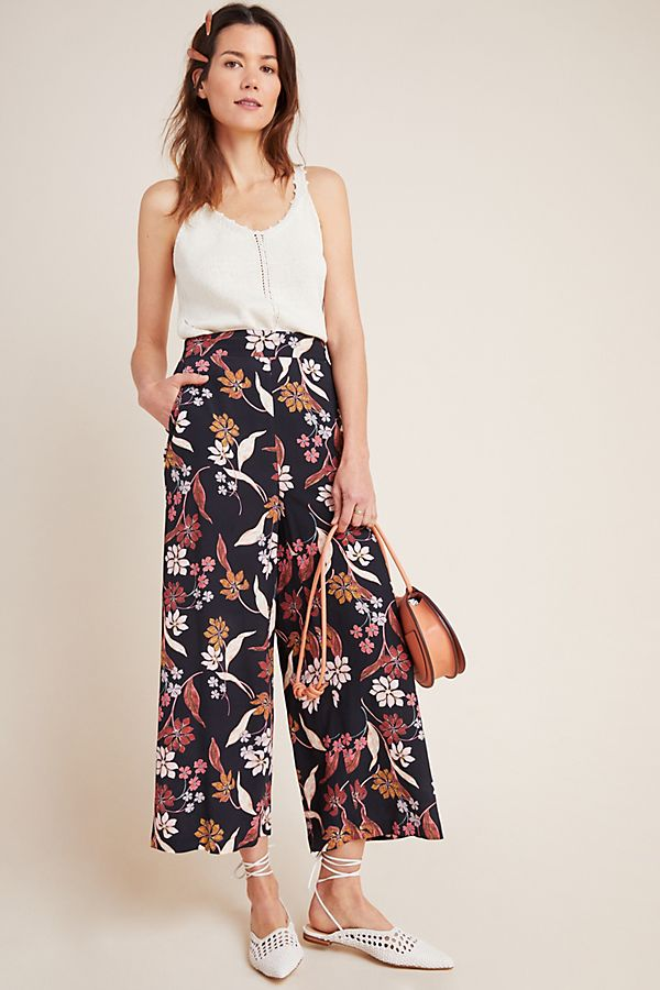 Slide View: 1: DOLAN Collection Dayna Embroidered Trousers