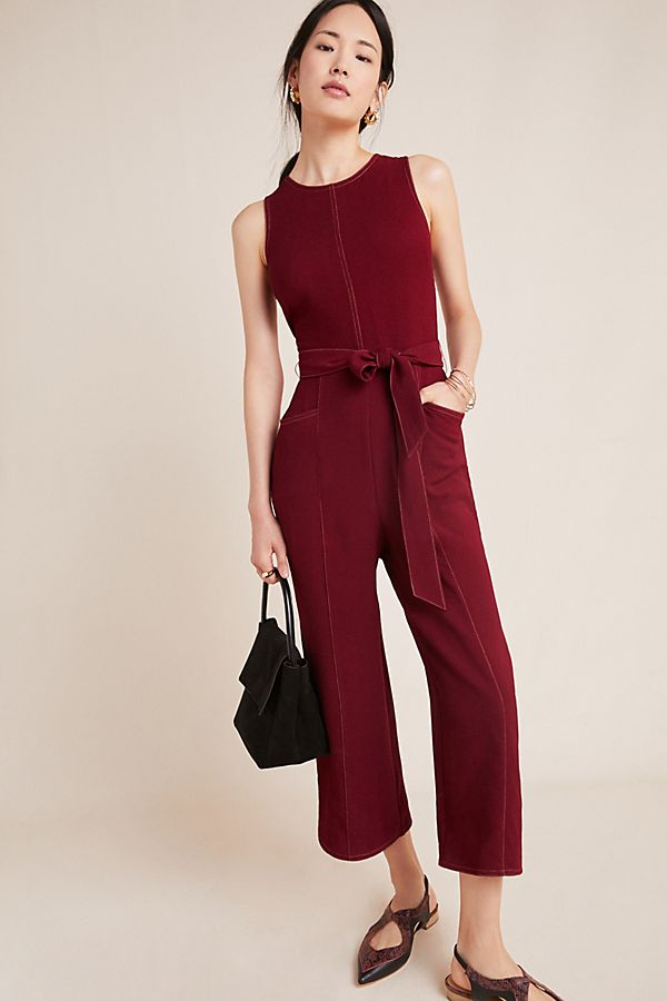Slide View: 1: Colleen Stitched Jumpsuit