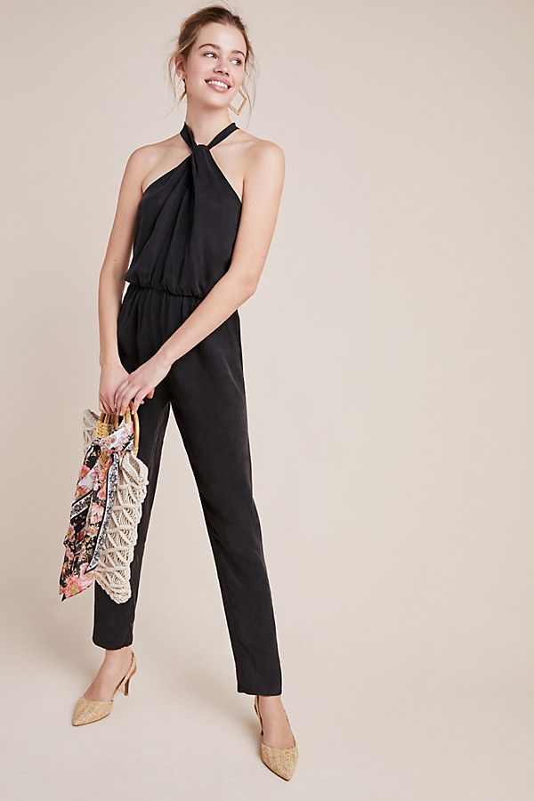 Slide View: 1: Corbett Cupro Jumpsuit