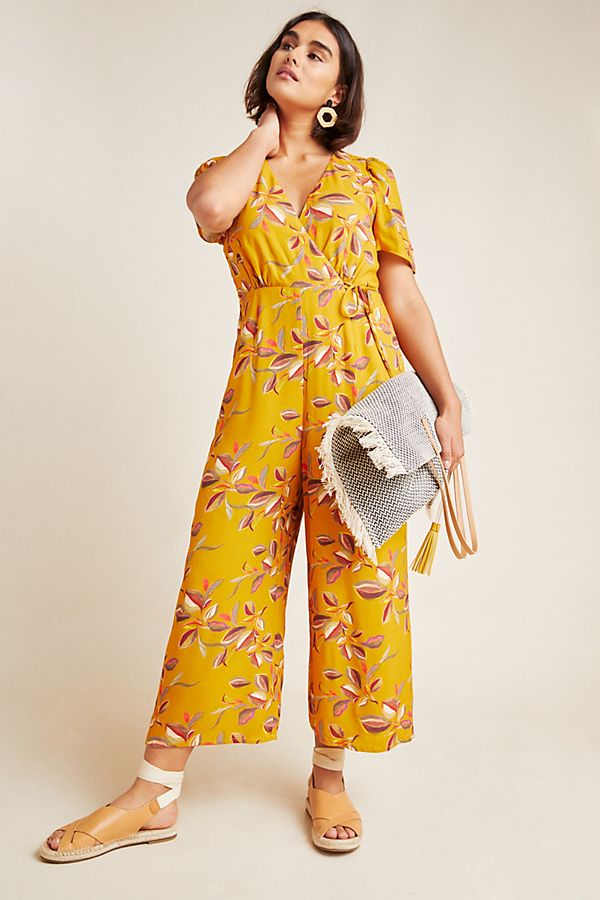 Slide View: 1: Lisette Wide-Leg Jumpsuit