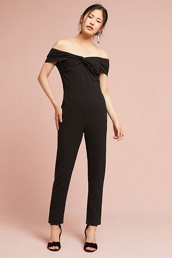 1d7b2c0f18e5 Karlie Off-The-Shouder Knotted Jumpsuit