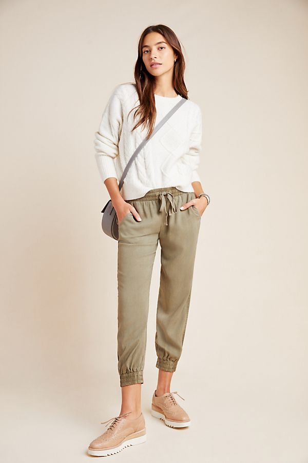 Slide View: 1: Cloth & Stone Chambray Joggers