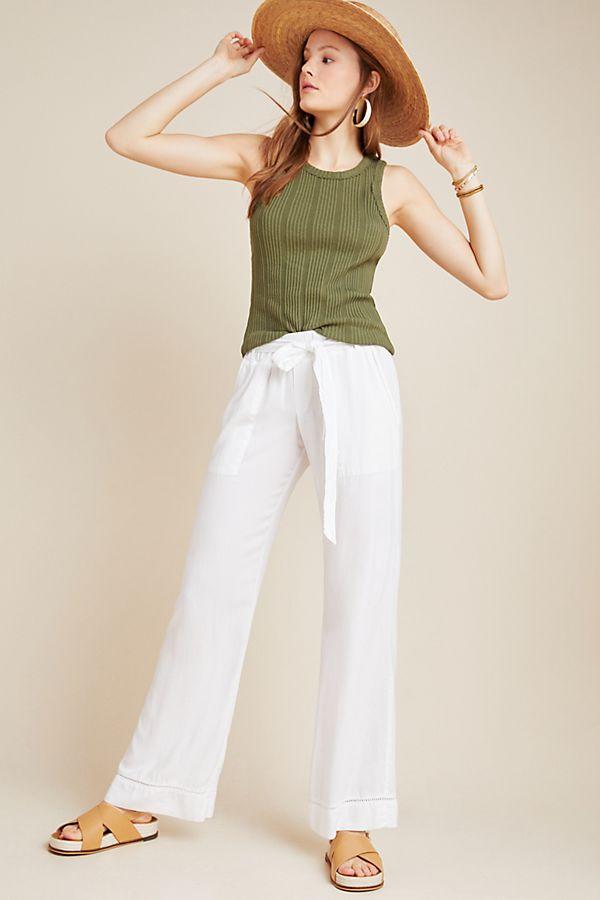 Slide View: 1: Cloth & Stone Lydia Wide-Leg Pants