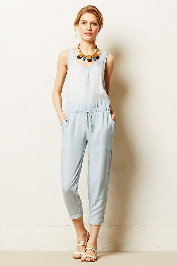 97eaf585ac96 Chambray Jumpsuit