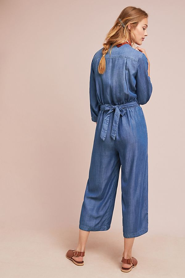 ac351d214958 Slide View  2  Cloth   Stone Chambray Jumpsuit