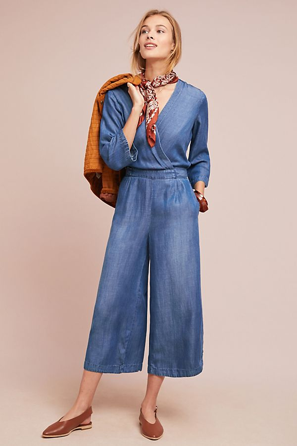 16ed242b047e Slide View  1  Cloth   Stone Chambray Jumpsuit