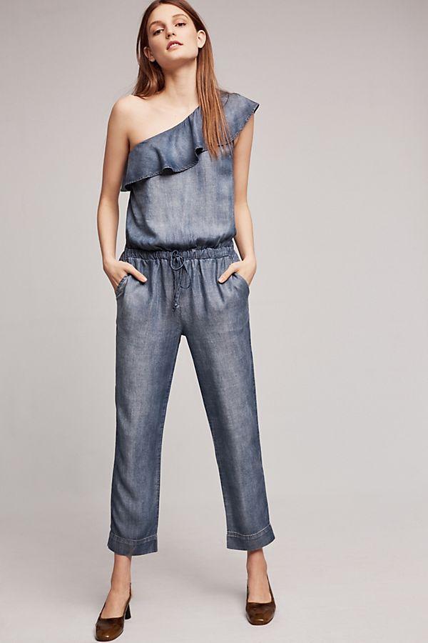 8710f8daf98 Cloth   Stone Miami One-Shoulder Jumpsuit