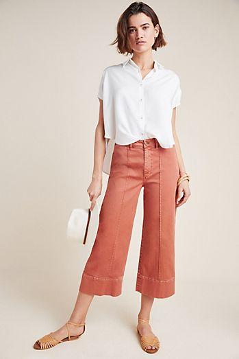 e5f5628ba73e15 Pintucked Chino Pants