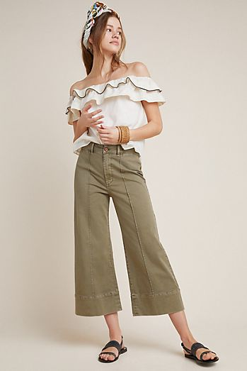 68d0c4933c0 Pintucked Chino Pants