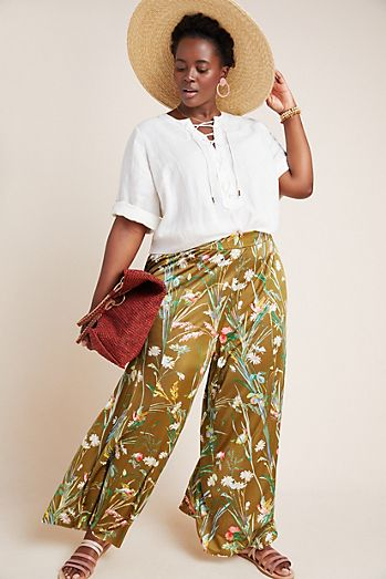 1035f26977ef2 Plus Size Pants | Wide Leg, Joggers & More | Anthropologie