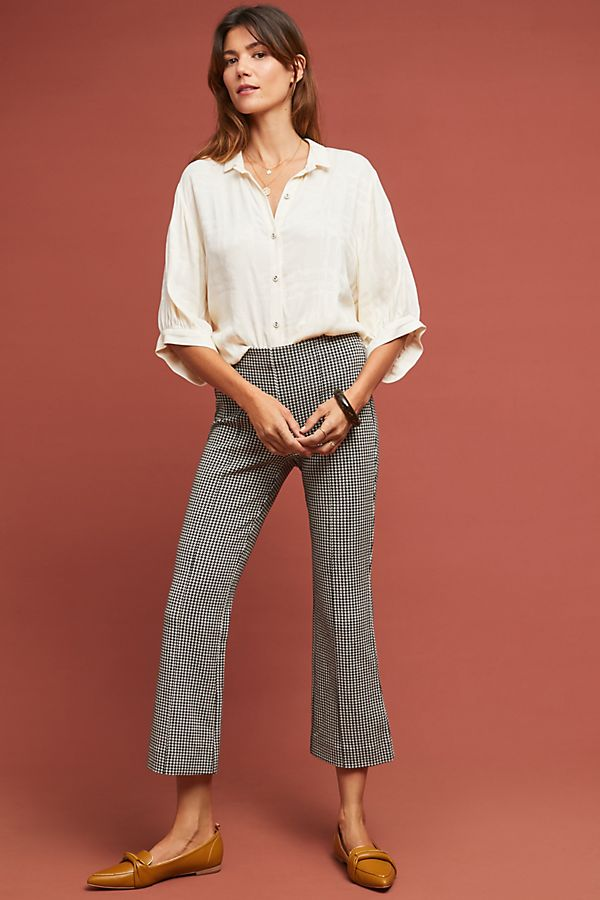 c1e831b5ca8a Cropped Houndstooth Pants | Anthropologie