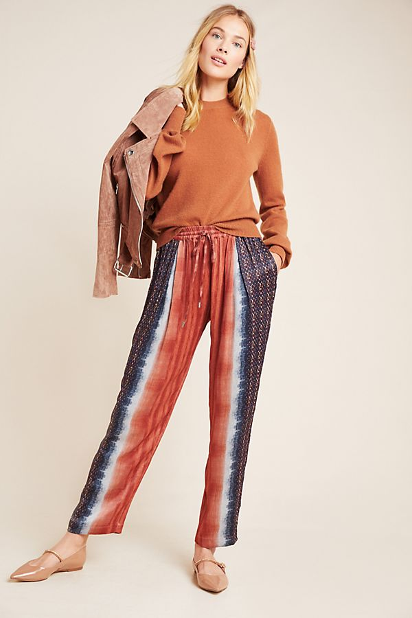 Slide View: 1: Mallorca Dyed Tapered Trousers