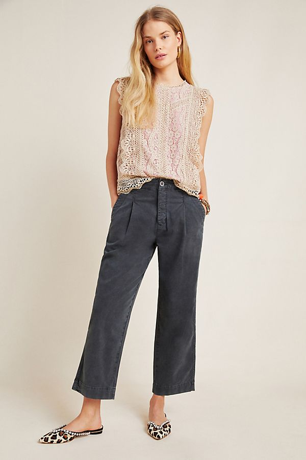 Slide View: 1: Slouched Trousers