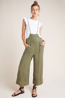 Asha Bib Front Utility Overalls by Anthropologie