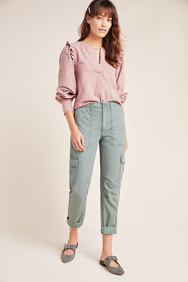 Slide View: 1: Nina Relaxed Cargo Pants