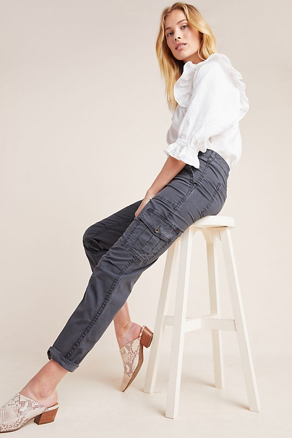 Slide View: 1: Jennie Ripstop Cargo Pants