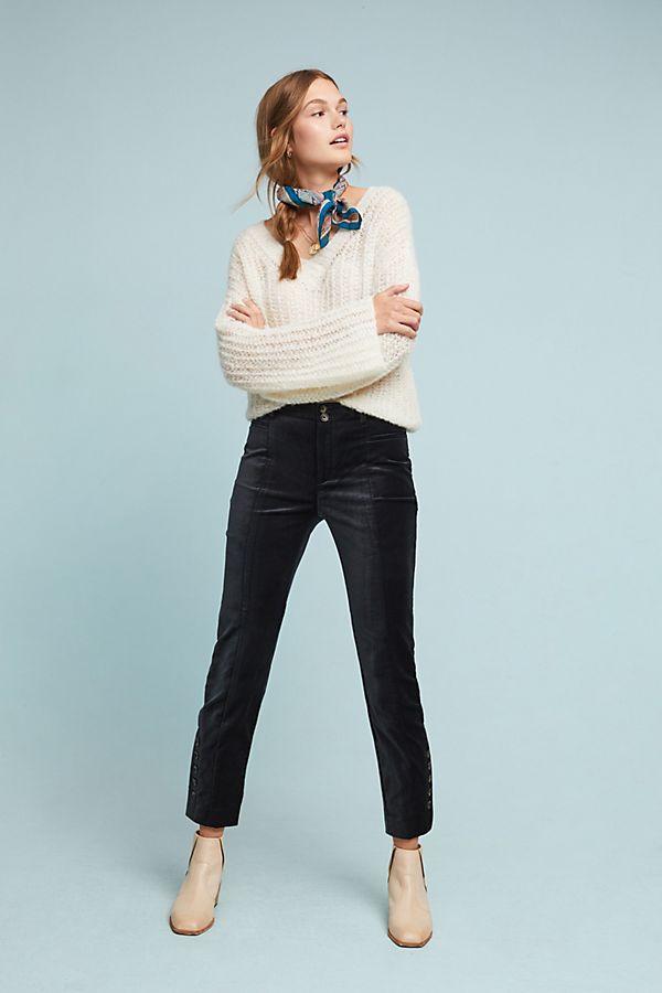 9fa09ef8d4c7 The Essential Velvet Slim Trousers