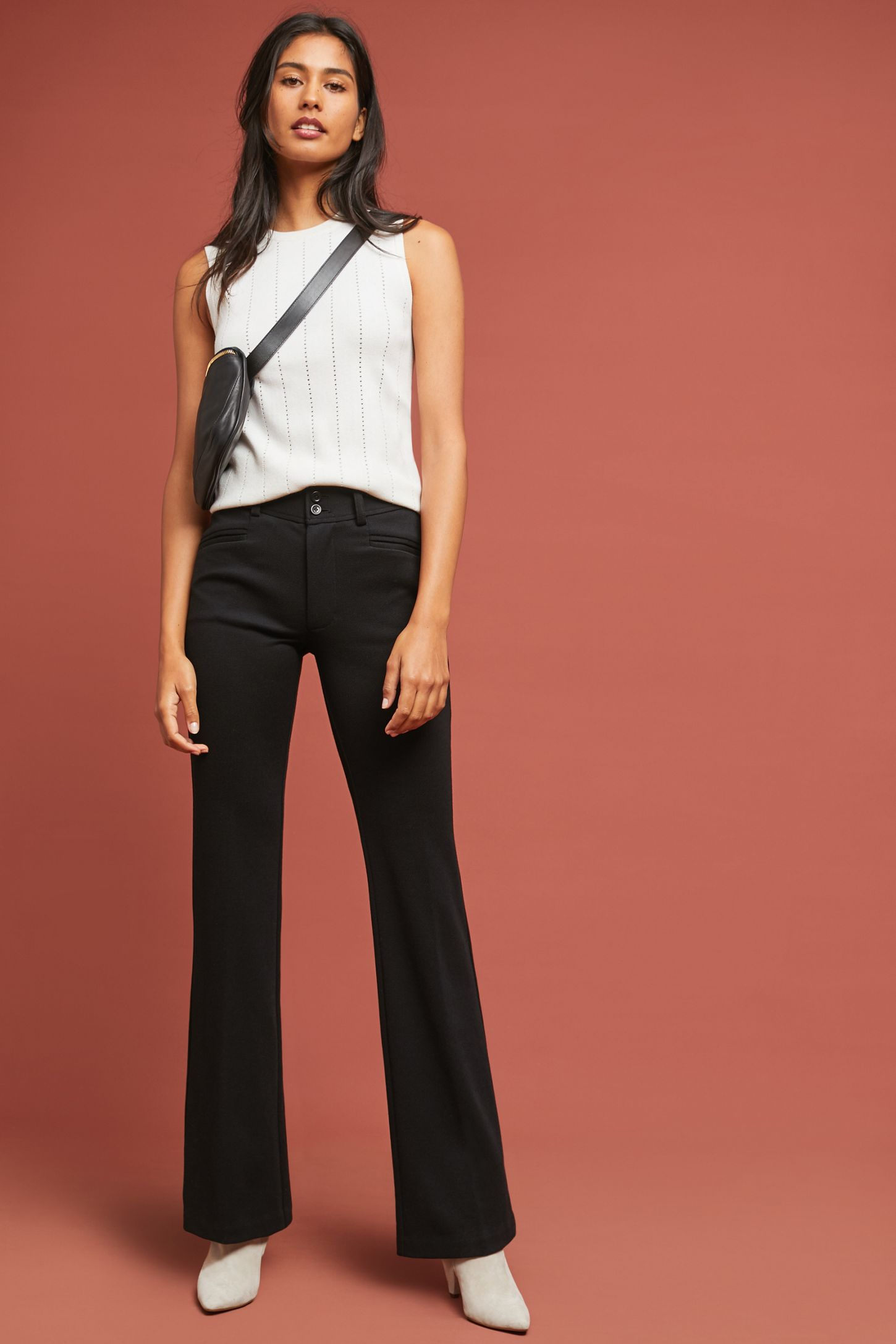 e4f580209644 The Essential Ponte Trousers | Anthropologie