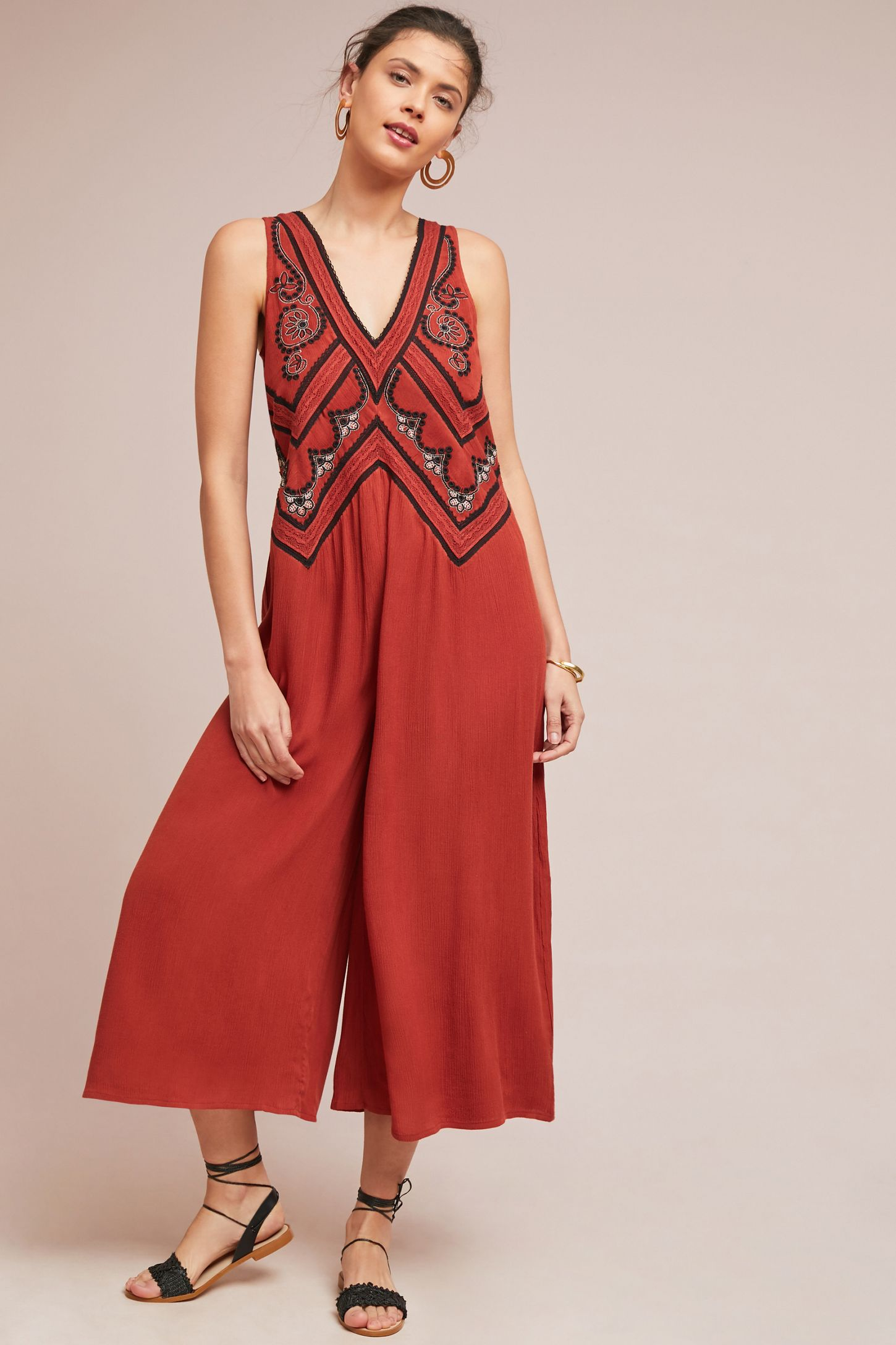2f8e8f100b8d Desert Embroidered Jumpsuit
