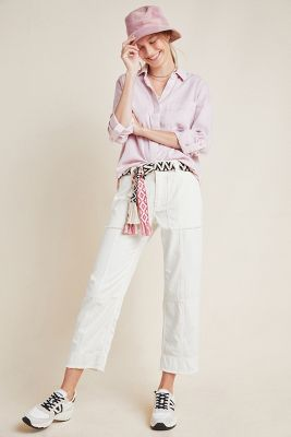 Relaxed Utility Pants by Anthropologie