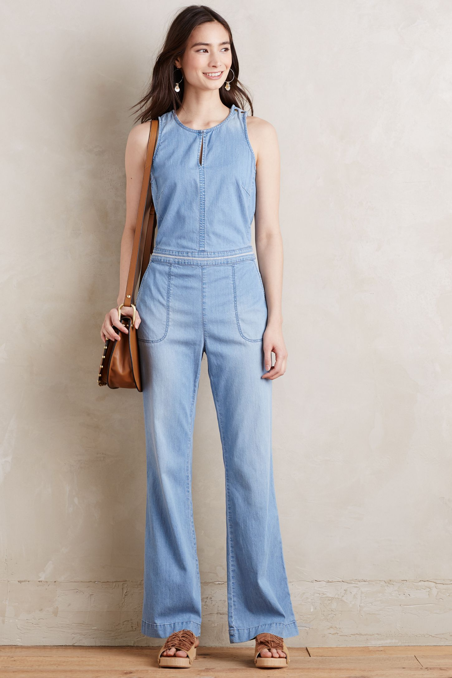 34eec000cb7 Chambray Utility Jumpsuit