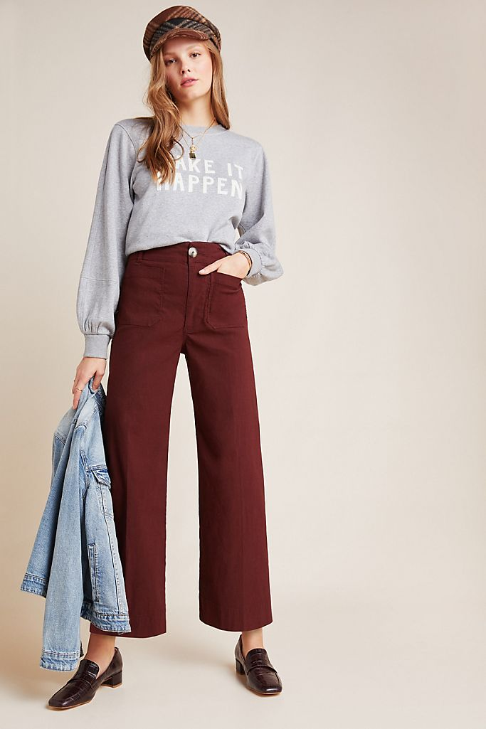 Abbot Wide-Leg Pants