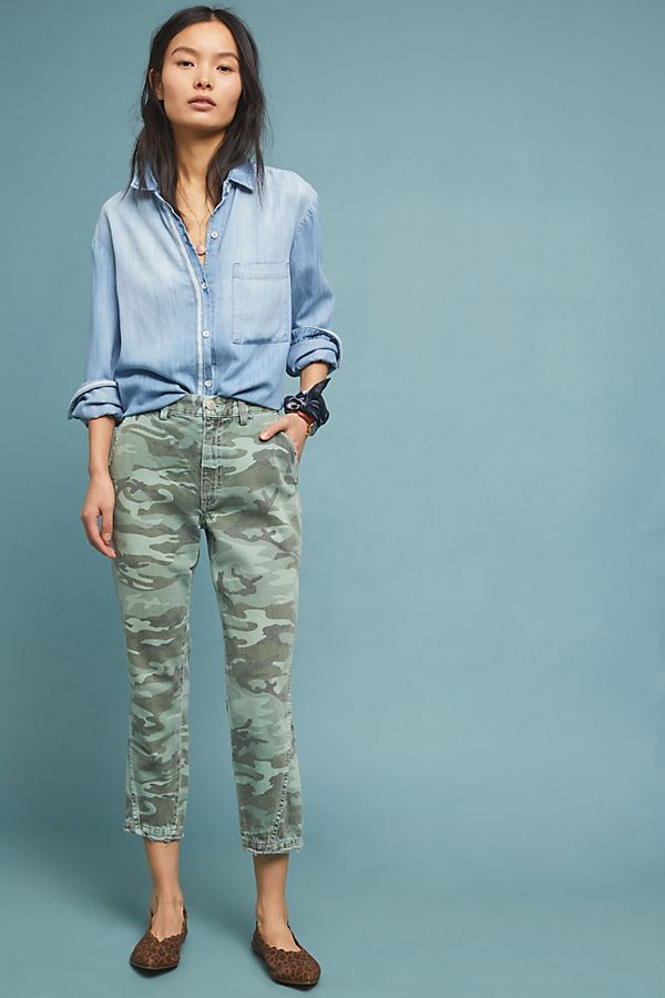 fa3cccc8702 Slide View  1  AMO Slouch High-Rise Camo Trouser Jeans