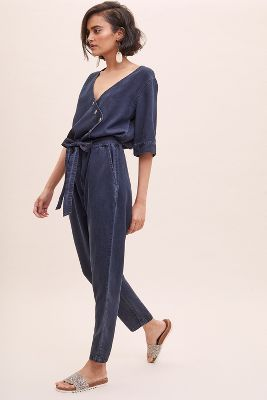 Chloe Denim Jumpsuit by Seen Worn Kept