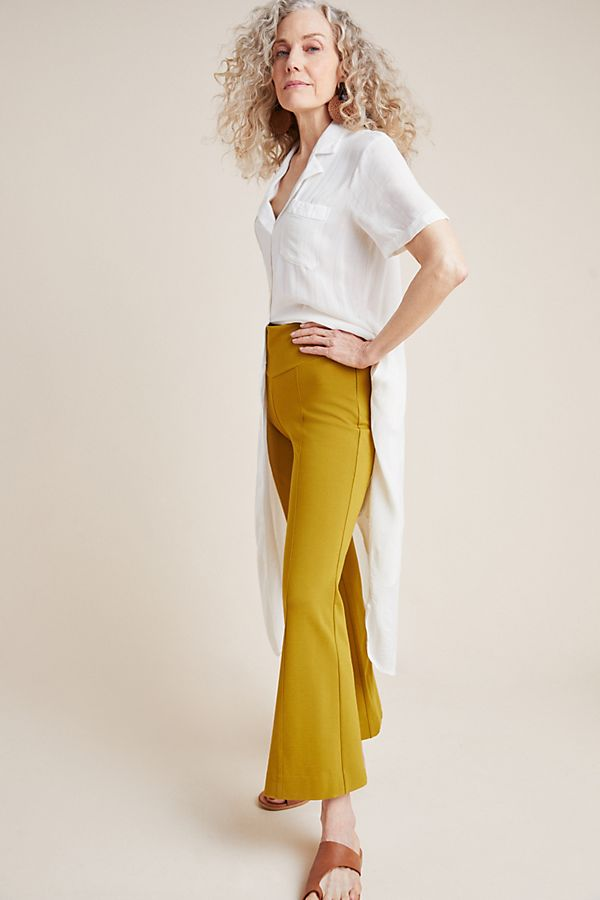 Slide View: 1: Ponte Flare Pants