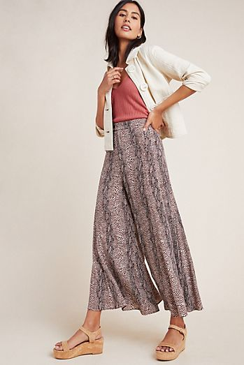 33736f5984 Wide Leg Pants | Culottes & Palazzo Pants | Anthropologie