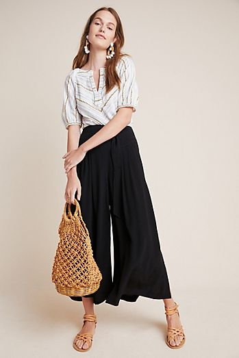 acea2688bf Wide Leg Pants | Culottes & Palazzo Pants | Anthropologie