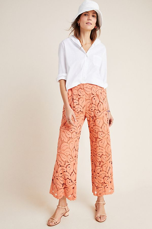Slide View: 1: Dolly Lace Trousers
