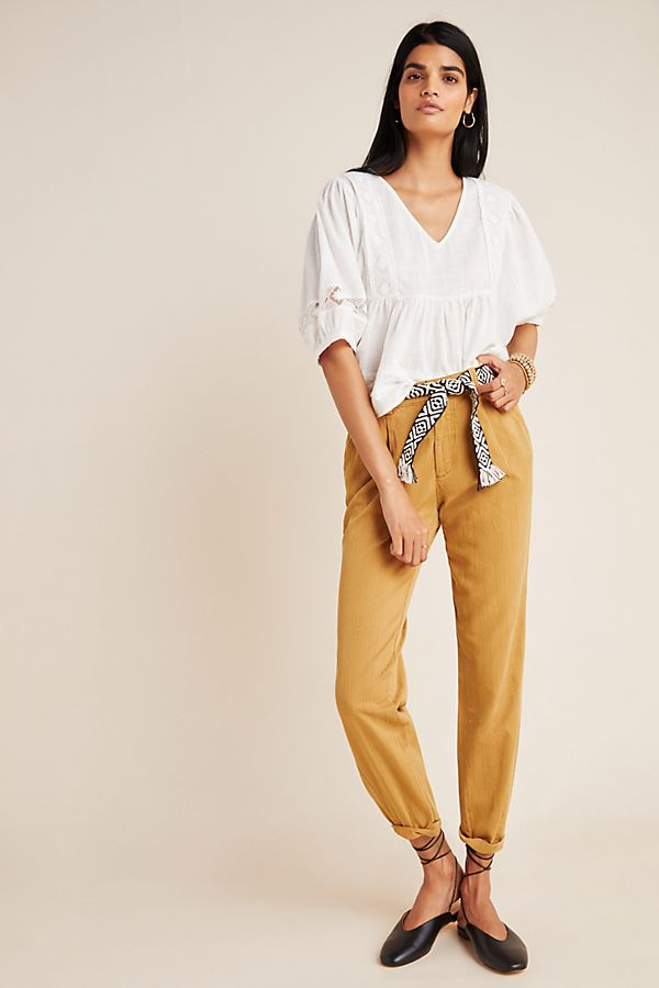Slide View: 1: Scout Slim Pleated Pants
