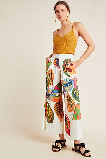 2c3ff371f5768 Patterned Pants | Printed Pants for Women | Anthropologie