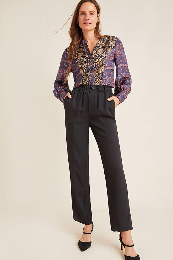 Slide View: 1: Robin High-Rise Trousers